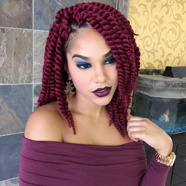 75 Crochet Braid Hairstyles With Tutorial