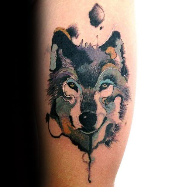 125 wolf tattoos with meanings. Black Bedroom Furniture Sets. Home Design Ideas