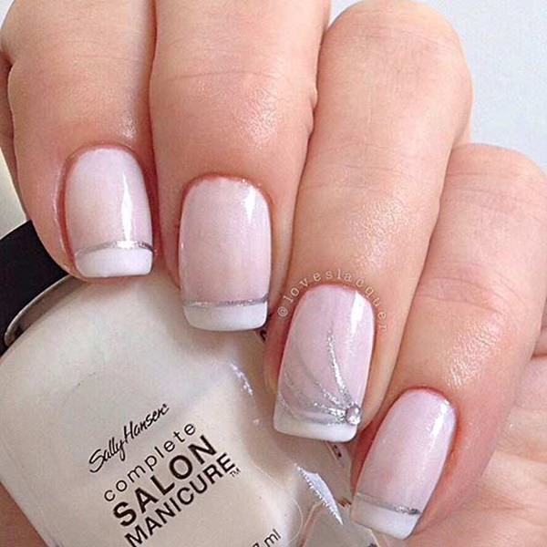 If You Want To Know One Of The Best Nail Polish For French Manicure Base Then Can Always Go A Light Pink Shade Add Some White At