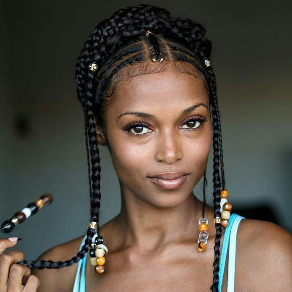If you're looking add some pop of color to your hairstyle without wearing colorful hair extensions, think of some yarn wraps that will give you that ...