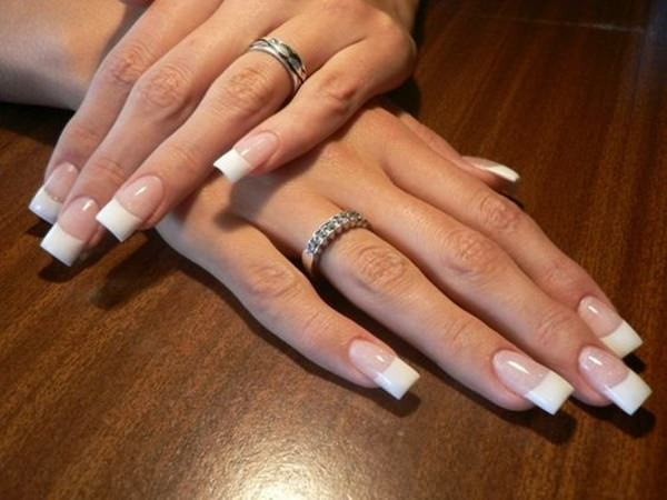 French Tip Nails For Long