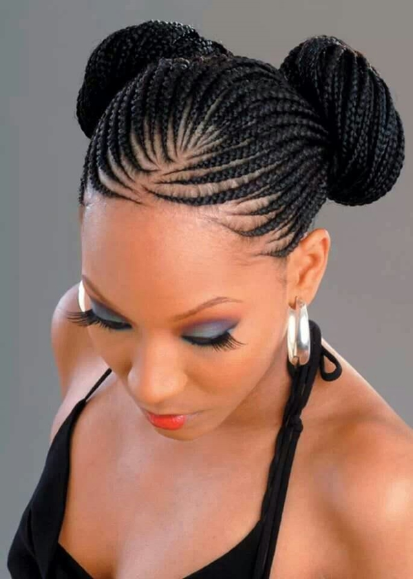 Shaved Natural Hairstyles For Black Women