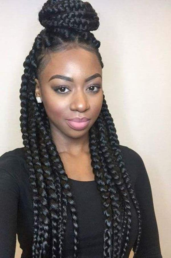 72 Pretty Black Braid Hairstyles To Wear Now