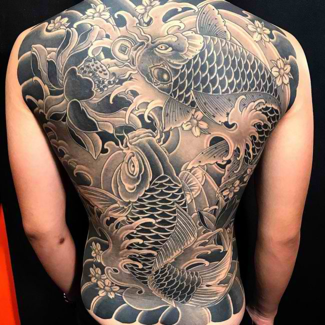 35 Koi Fish Tattoo Inspirations For Men And Women
