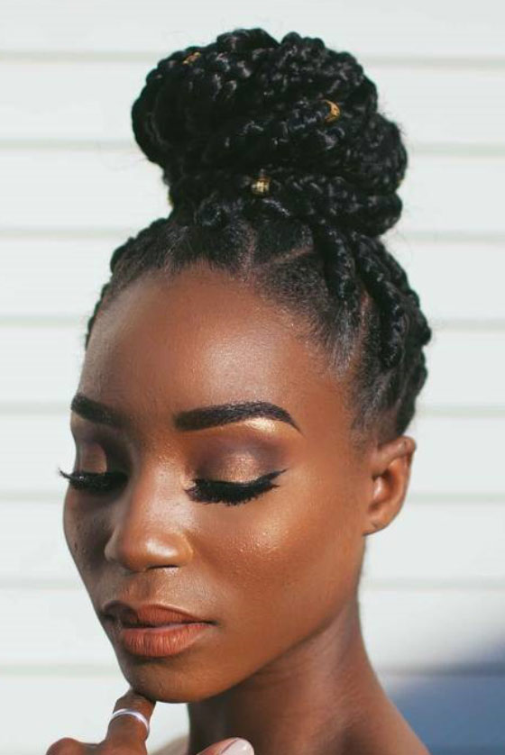 130 Cool Box Braids Hairstyles And Inspirations