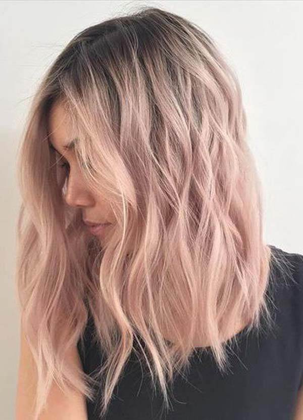 108 Attractive Rose Gold Hair That You Ll Fall In Love With