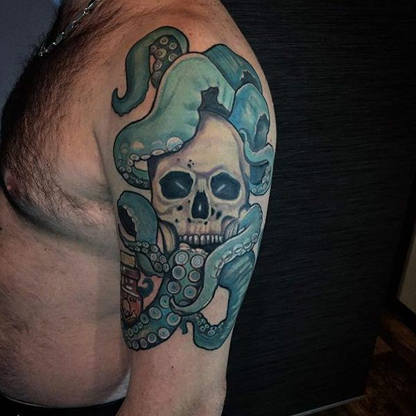 150 Unbelievably Great Octopus Tattoo Designs With Their Meanings