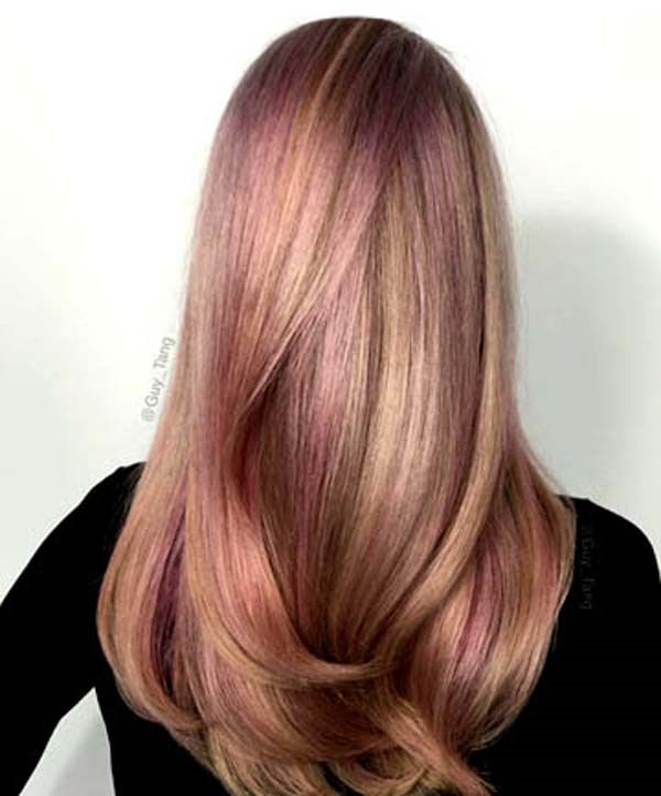 108 Attractive Rose Gold Hair That Youll Fall In Love With