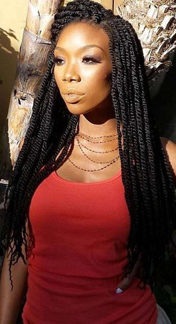 60 Marley Twist Hairstyle Inspirations Every Woman Will Love