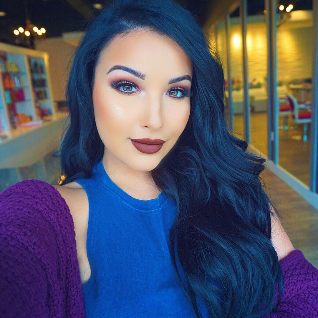 50 Cool Inspirations To Rock The Blue Black Hair Trend