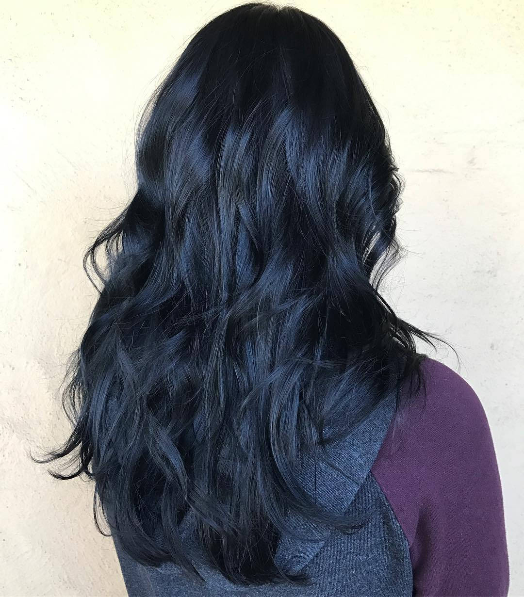 There Are A Few Vibrant Hair Colors That Office Friendly And Blue Black Can Look Professional Do You Know In Color Psychology Evokes